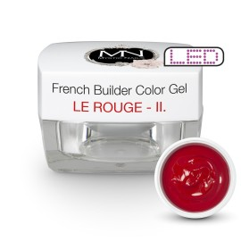 Gel UV De Constructie Colorat - Nr. 2 - Le Rouge - 15 g