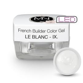 Gel UV De Constructie Colorat - Nr. 9 - Le Blanc - 15 gr