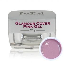 Gel UV De Camuflaj Glamour Cover Pink 15 gr