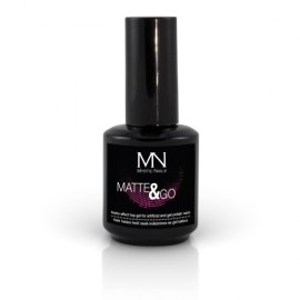 Gel UV De Finisare Matte & Go 10 ml