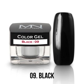 Gel UV Colorat Clasic - nr - 09 - Black - 4 gr