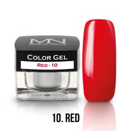 Gel UV Colorat Clasic - nr - 10 - Red - 4 gr