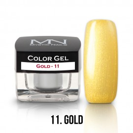 Gel UV Colorat Clasic - nr - 11 - Gold - 4 gr