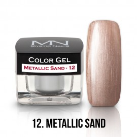 Gel UV Colorat Clasic - nr - 12 - Metallic Sand - 4 gr