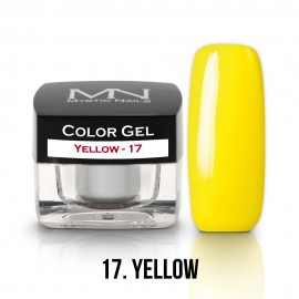 Gel UV Colorat Clasic - nr - 17 - Yellow - 4 gr
