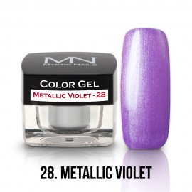 Gel UV Colorat Clasic - nr - 28 - Metallic Violet- 4 gr