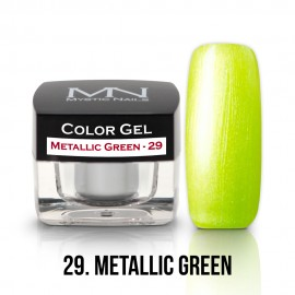 Gel UV Colorat Clasic - nr - 29 - Metallic Green - 4 gr