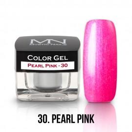 Gel UV Colorat Clasic - nr - 30 - Pearl Pink - 4 gr