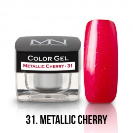 Gel UV Colorat Clasic - nr - 31 - Metallic Cherry - 4 gr