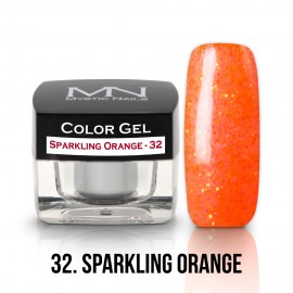Gel UV Colorat Clasic - nr - 32 - Sparkling Orange - 4 gr