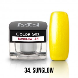Gel UV Colorat Clasic - nr - 34 - Sunglow- 4 gr