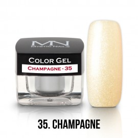Gel UV Colorat Clasic - nr - 35 - Champagne- 4 gr