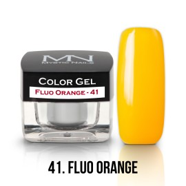 Gel UV Colorat Clasic - nr - 41 - Fluo Orange