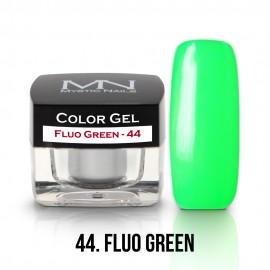Gel UV Colorat Clasic - nr - 44 - Fluo Green- 4 gr