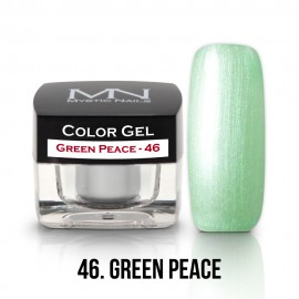 Gel UV Colorat Clasic - nr - 46 - Green Peace- 4 gr