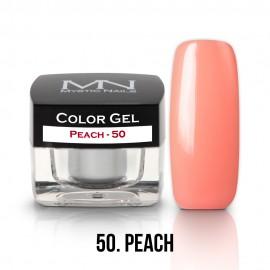 Gel UV Colorat Clasic - nr - 50 - Peach- 4 gr