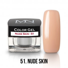 Gel UV Colorat Clasic - nr - 51 - Nude Skin- 4 gr