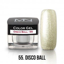 Gel UV Colorat Clasic - nr - 55 - Disco Ball- 4 gr