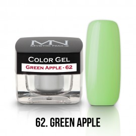 Gel UV Colorat Clasic - nr - 62 - Green Aple- 4 gr