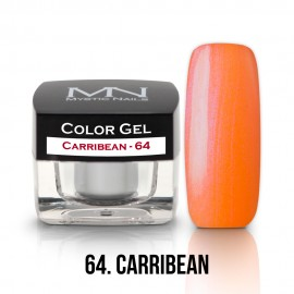 Gel UV Colorat Clasic - nr - 64 - Carribean - 4 gr