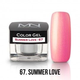 Gel UV Colorat Clasic - nr - 67 - Summer Love - 4 gr