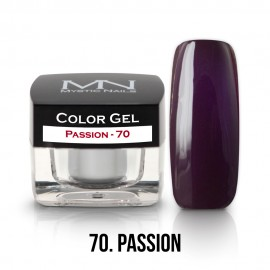 Gel UV Colorat Clasic - nr - 70 - Passion - 4 gr