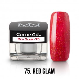 Gel Colorat- 75 - Red Glam - 4g