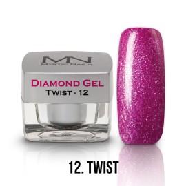 Gel UV Diamond - nr.12 - Twist - 4g