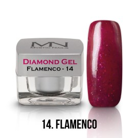 Gel UV Diamond - nr.14 - Flamenco - 4g