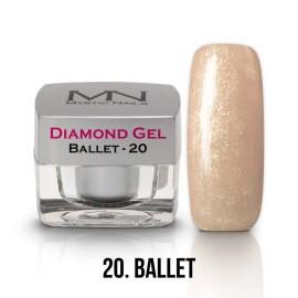 Gel UV Diamond - nr.20 - Ballet - 4g