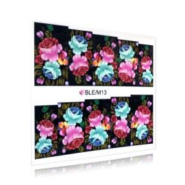 Sticker Unghii - Motiv Floral - BLE/M13