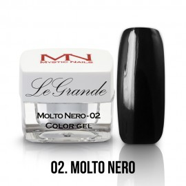 LeGrande Color Gel - nr.02 - Molto Nero - 4 g