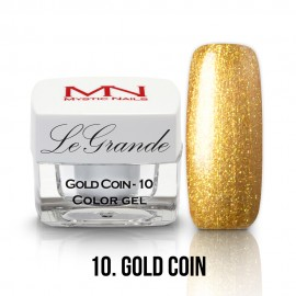 LeGrande Color Gel - nr.10 - Gold Coin - 4 g