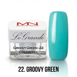 LeGrande Color Gel - nr.22 - Groovy Green - 4 g
