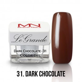 LeGrande Color Gel - nr.31 - Dark Chocolate - 4 g
