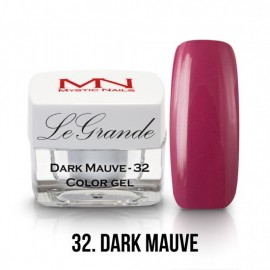 LeGrande Color Gel - nr.32 - Dark Mauve - 4 g