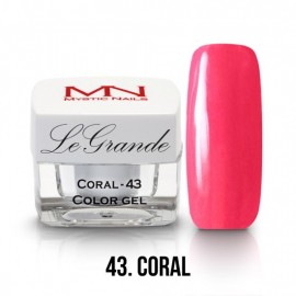 LeGrande Color Gel - nr.43 - Coral - 4g<br /><br />