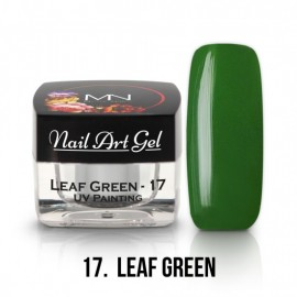Gel UV - Nail Art - Painting - 17 - Leaf Green - 4 gr
