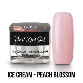Gel UV - Nail Art - Painting - Ice Cream - Peach Blossom - 4 gr
