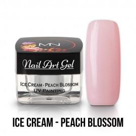 Gel UV - Nail Art - Painting - Ice Cream - Peach Blossom - 4 gr