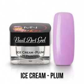 Gel UV - Nail Art Painting - Ice Cream - Plum - 4 gr