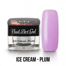 Gel UV - Nail Art Painting - Ice Cream - Plum - 4 gr