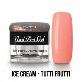 Gel UV - Nail Art - Painting - Ice Cream - Tutti Frutti - 4 gr