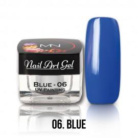 Gel UV - Nail Art Painting nr. 06 - Blue - 4 gr
