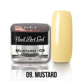 Gel UV - Nail Art Painting nr. 09 - Mustard - 4 gr