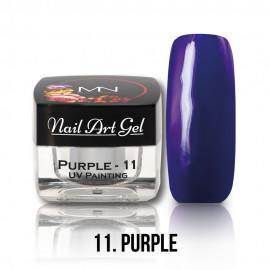 Gel UV - Nail Art Painting nr. 11 - Purple - 4 gr