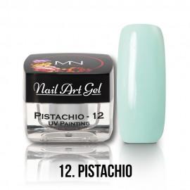 Gel UV - Nail Art Painting nr. 12 - Pistachio - 4 gr