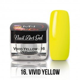 Gel UV - Nail Art Painting nr. 16 - Vivid Yellow - 4 gr
