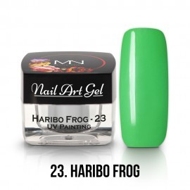 UV Painting Nail Art Gel - 23 - Haribo Frog - 4g