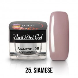 UV Painting Nail Art Gel - 25 - Siamese - 4g